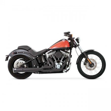 V&H Pro Pipe 2-1 - Sort - Softail