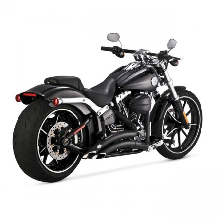 V&H Big Radius 2-2 - Sort - Softail