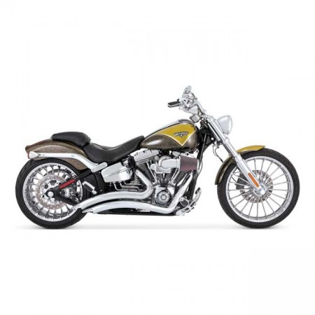 V&H Big Radius 2-2 - Chrome - Softail
