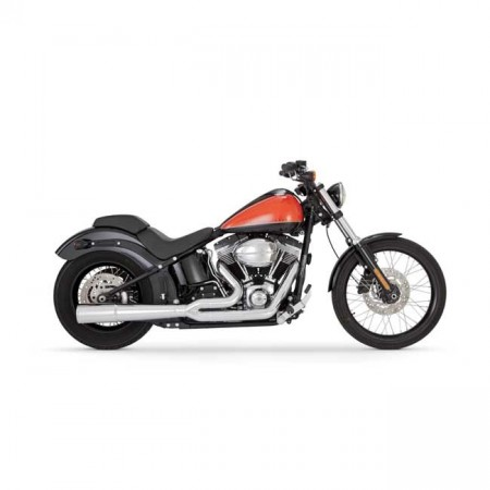 V&H Pro Pipe 2-1 - Chrome - Softail
