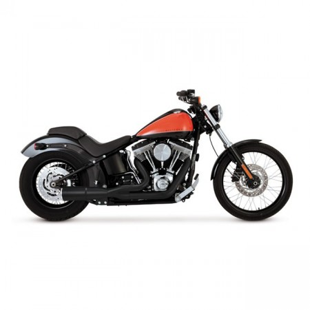 V&H Hi-Output 2-1 Short - Sort - Softail