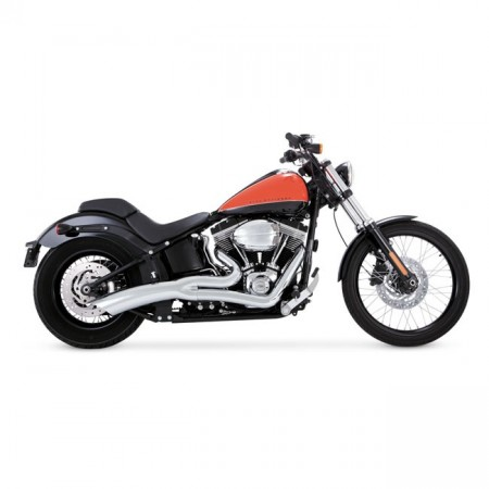 V&H Big Radius 2-1, Chrome - Softail