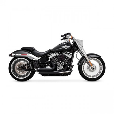 V&H Shortshots Staggered - Sort - Softail